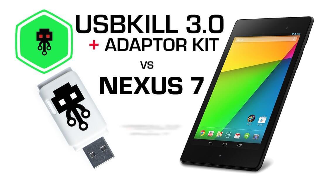 USB Kill V3 vs Nexus 7